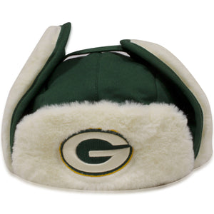Green Bay Packers Pacific Green '47 Brand Ushanka Trapper Hat