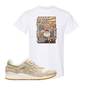 GEL-Lyte III 'Monozukuri Pack' T Shirt | White, Attack Of The Bear