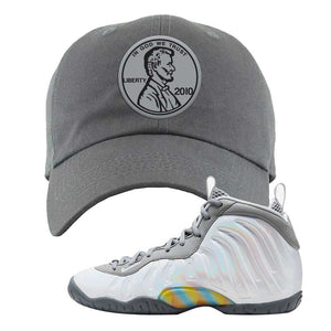 Lil Posite One Rainbow Pixel Dad Hat | Dark Gray, Penny