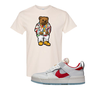 Dunk Low Disrupt Gym Red T Shirt | Sweater Bear, Natural