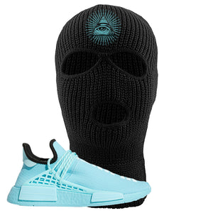 Pharell x NMD Hu Aqua Ski Mask | All Seeing Eye, Black