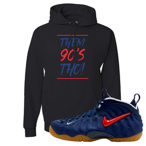 Air Foamposite Pro USA Hoodie | Black, Them 90's Tho