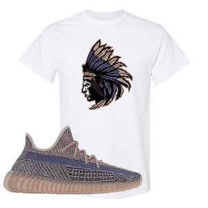 Yeezy Boost 350 V2 Fade T-Shirt | Indian Chief, White