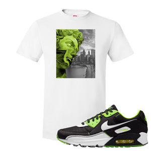 Air Max 90 Exeter Edition Black T Shirt | Miguel, White