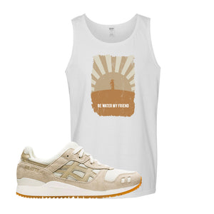 GEL-Lyte III 'Monozukuri Pack' Tank Top | White, Be Water My Friend Samurai