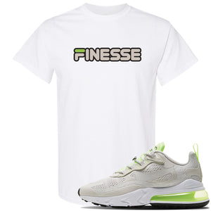 Air Max 270 React Ghost Green Sneaker Lime Green Dad Hat | Hat to match Nike Air Max 270 React Ghost Green Shoes | Fresh