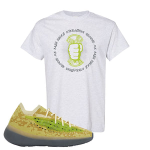 Yeezy Boost 380 Hylte Glow T Shirt | Cash Rules Everything Around Me, Ash