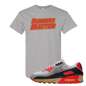 Air Max 90 Infrared T Shirt | Runners Matter, Gravel
