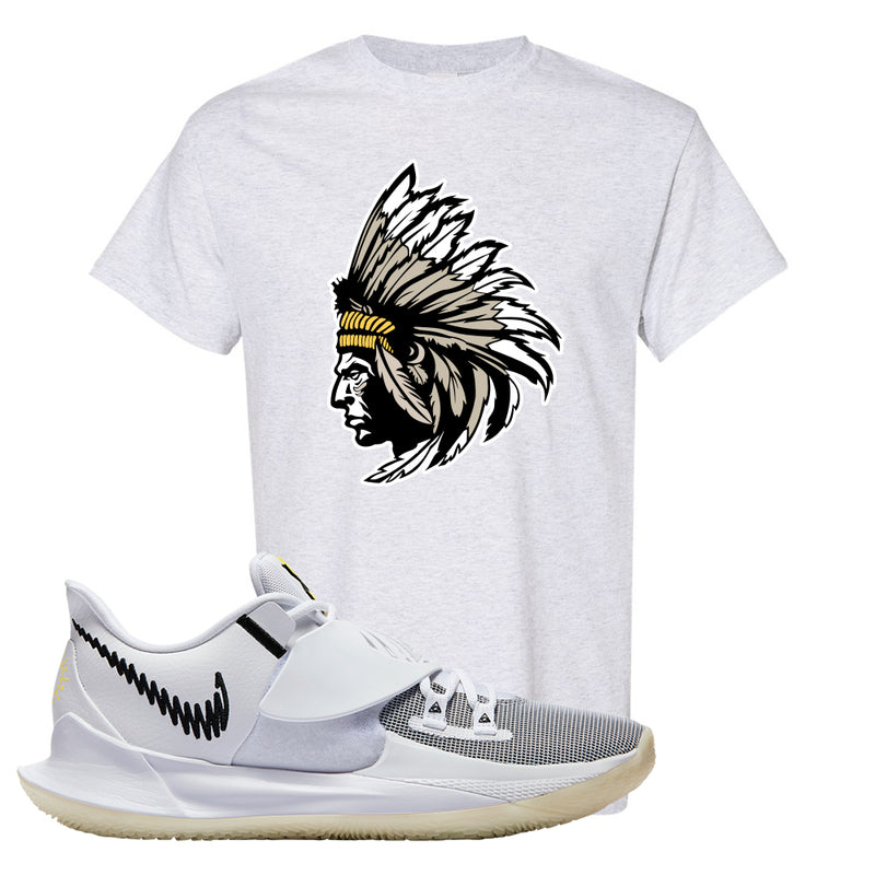 Kyrie Low 3 T Shirt | Ash, Indian Chief