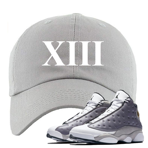 Jordan 13 Atmosphere Grey XIII Light Gray Dad Hat