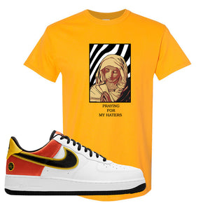 Air Force 1 Low Roswell Rayguns T Shirt | God Told Me, Gold