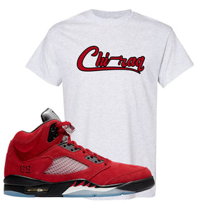 Air Jordan 5 Raging Bull T Shirt | Chiraq, Ash