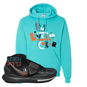 Kyrie 6 Eleven Hoodie | Scuba Blue, In Living Color
