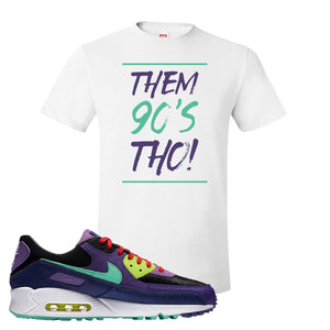 Air Max 90 Cheetah T Shirt | Them 90's Tho, White
