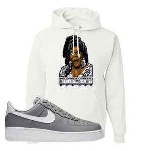 Air Force 1 Low Wolf Grey White Hoodie | White, Oh My Goodness