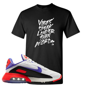Air Max 2090 Evolution Of Icons T Shirt | Vibes Speak Louder Than Words, Black