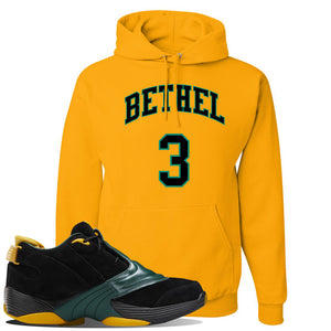 Answer 5 Bethel High Sneaker Charcoal Grey Pullover Hoodie | Hoodie to match Reebok Answer 5 Bethel High Shoes | Bethel 3 Arch