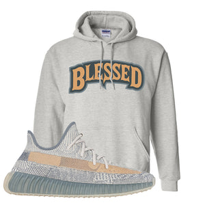 Yeezy Boost 350 V2 Israfil Hoodie | Ash, Blessed Arch
