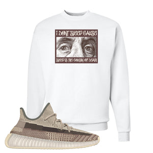 Yeezy 350 v2 Zyon Crewneck | White, Franklin Eyes