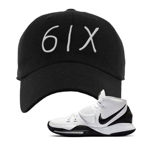 Kyrie 6 Oreo Dad Hat | Black, 6ix