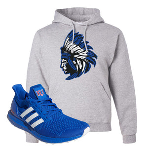 Ultra Boost 1.0 Kansas Hoodie | Indian Chief, Ash