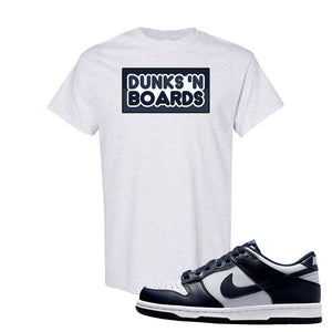 SB Dunk Low Georgetown T Shirt | Dunks N Boards, Ash