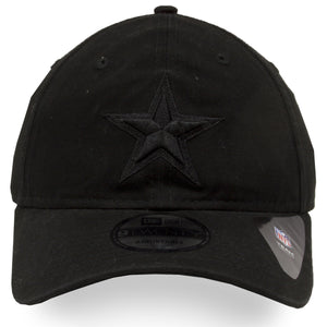 Dallas Cowboys Black Tonal 9Twenty Dad Hat