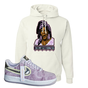 Air Force 1 P[her]spective Hoodie | White, Oh My Goodness