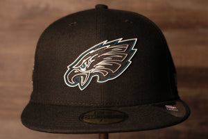 Eagles 2020 Draft Fitted Cap | Philadelphia Eagles 2020 NFL Draft Fitted Hat the front of this eagles cap has the eagles logo in a neon sign like design