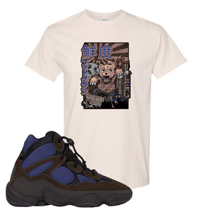 Yeezy 500 High Tyrian T Shirt | Natural, Attack Of The Bear