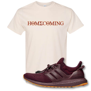 Homecoming Natural T-Shirt to match Ivy Park X Adidas Ultra Boost Sneaker