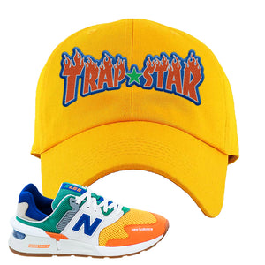 997S Multicolor Sneaker Yellow Dad Hat | Hat to match New Balance 997S Multicolor Shoes | Trap Star