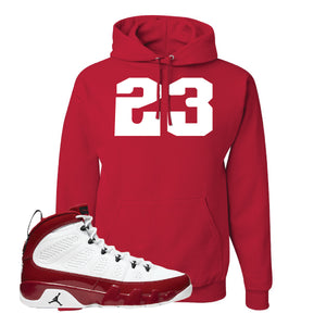 Air Jordan 9 Gym Red Hoodie | Jordan 9 23, Red