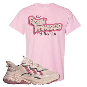 Women Ozweego Icy Pink T Shirt | Fresh Princess Of Bel Air, Light Pink