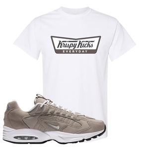 Air Max Triax 96 Grey Suede T Shirt | Krispy Kicks, White