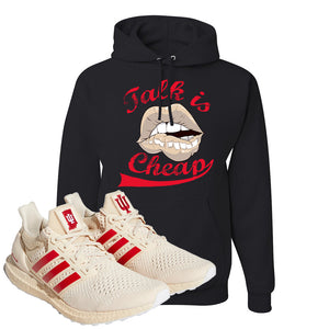 Adidas Ultra Boost 1.0 Indiana Pullover Hoodie | Talk Is Cheap, Black