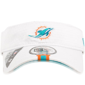 Miami Dolphins 2019 Training Camp White Visor