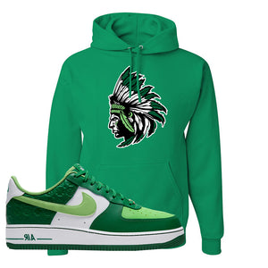 Air Force 1 Low St. Patrick's Day 2021 Hoodie | Indian Chief, Kelly