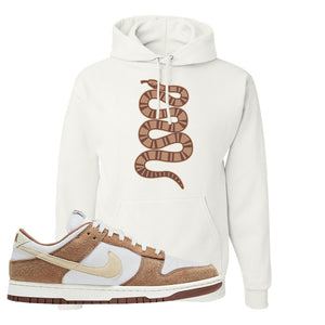 Dunk Low Medium Curry Hoodie | Coiled Snake, White