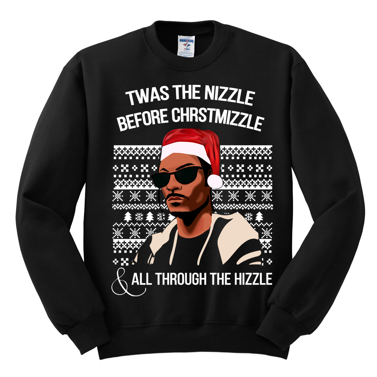 Twas The Nizzle Before The Christmizzle Snoop Dogg Black Ugly