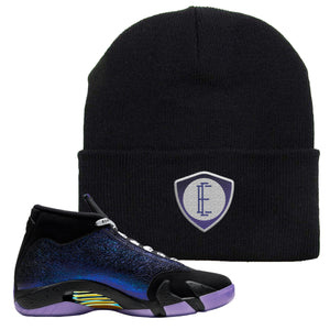 Jordan 14 Doernbecher E Shield Black Sneaker Hook Up Beanie