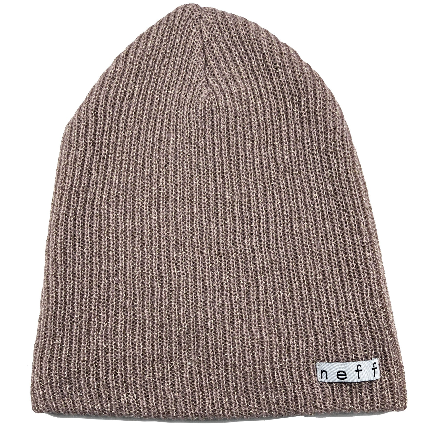 ac6d02bbd1a the rose gold metallic neff daily knit beanie is a rose gold color with  gold metallic