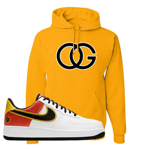 Air Force 1 Low Roswell Rayguns Hoodie | OG, Gold