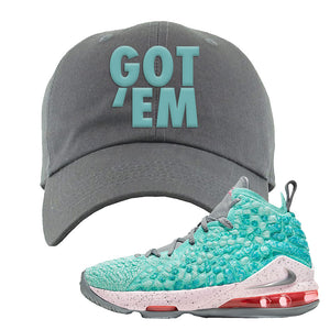 LeBron 17 'South Beach' Dad Hat | Light Gray, Got Em