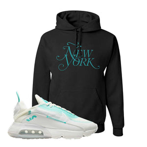 Air Max 2090 Pristine Green Hoodie | Black, New York
