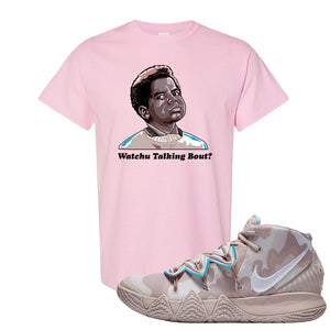 Nike Kybrid S2 What The Inline T-shirt | Watchu Talking Bout, Light Pink