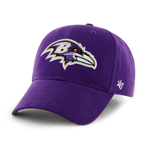 Baltimore Ravens Purple Youth Sized Adjustable Baseball Cap