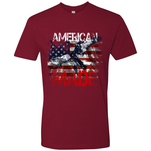 Standard Issue American Made Bald Eagle Red Grunt Life T-Shirt
