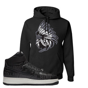 Air Force 1 High Hotline Hoodie | Indian Chief, Black