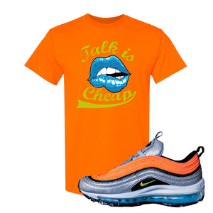 Air Max Plus Sky Nike T Shirt | Safety Orange, Talk is Cheap